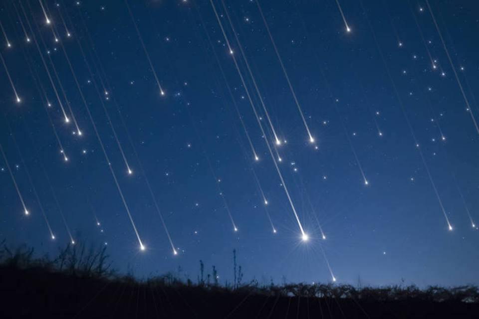 chuva dos meteoros Líridas