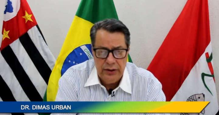 Dimas Urban, prefeito de Pirassununga