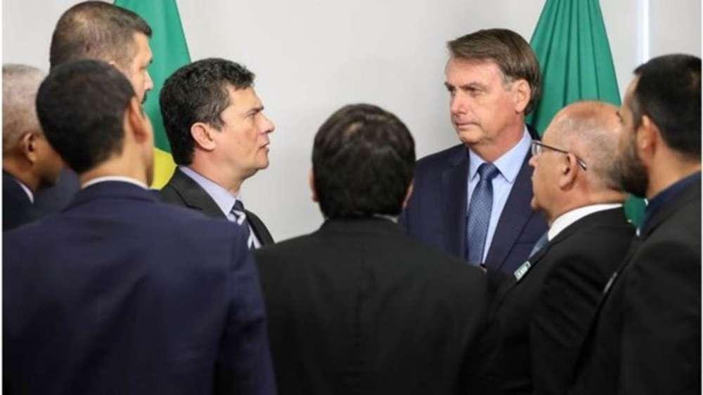 Sérgio Moro anuncia saída do Governo