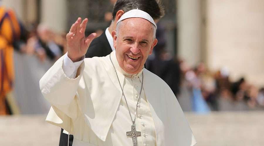 Papa Francisco. Foto: Daniel Ibáñez / ACI Prensa