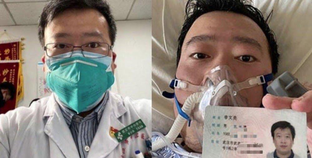 O oftalmologista Li Wenliang que alertou sobre o COVID-19