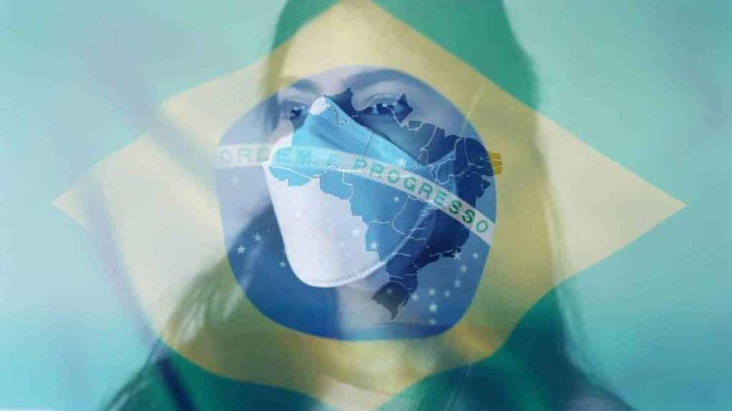 brasil segundo país com mais mortes por coronavírus no mundo