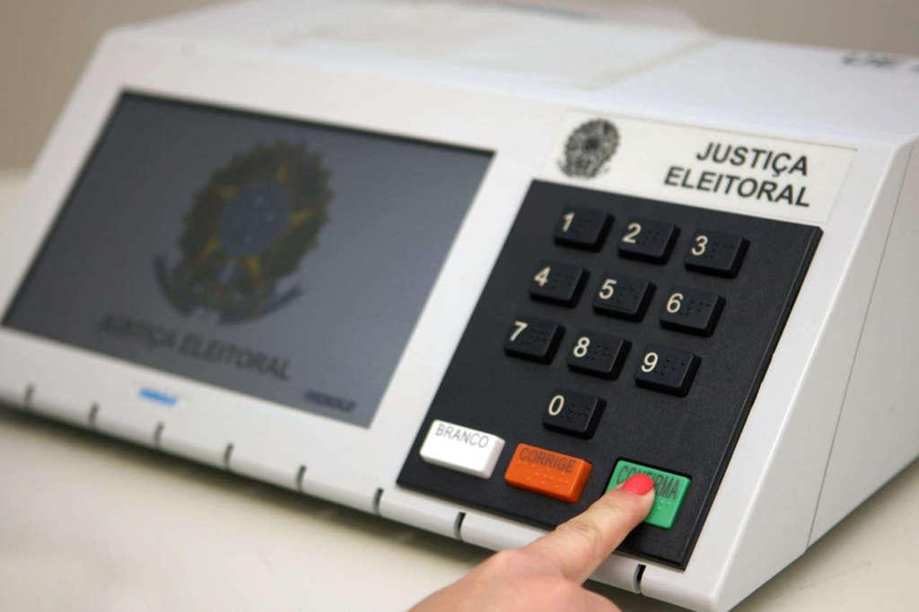 urna eletronica eleições 2020