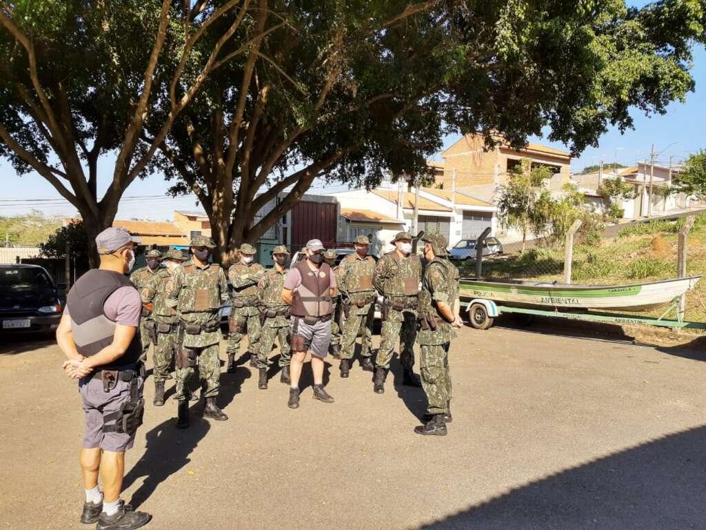 """Tenente Ivo de Moraes comandou """"Operação Piracema"""""""