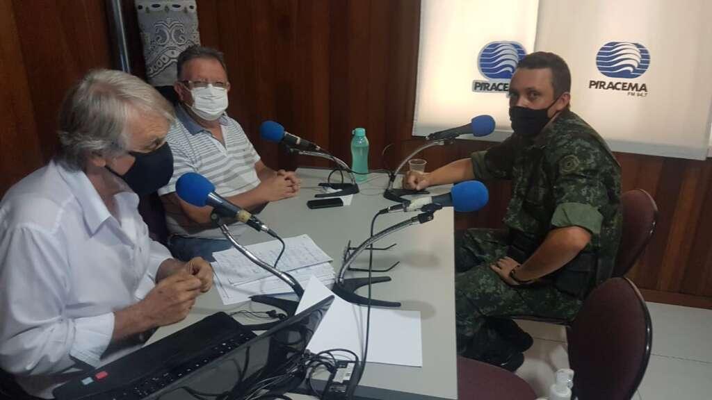 Polícia Militar Ambiental rádio Piracema