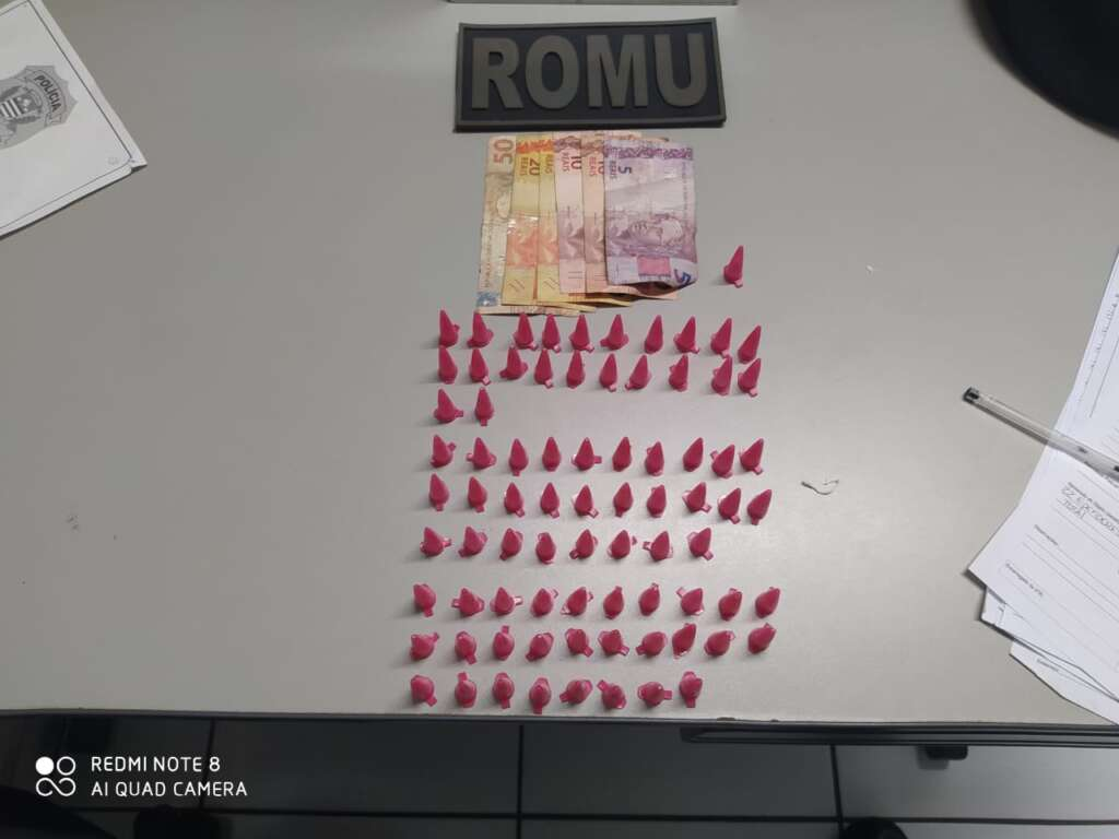 """""""Servente"""" é preso pela ROMU em Pirassununga por suspeita de envolvimento com o tráfico"""
