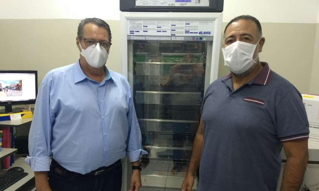 960 doses da Coronavac chegam em Pirassununga
