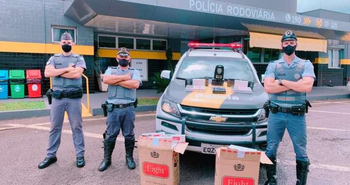 Denúncia leva policiais rodoviários do TOR a prender suspeito de tráfico interestadual