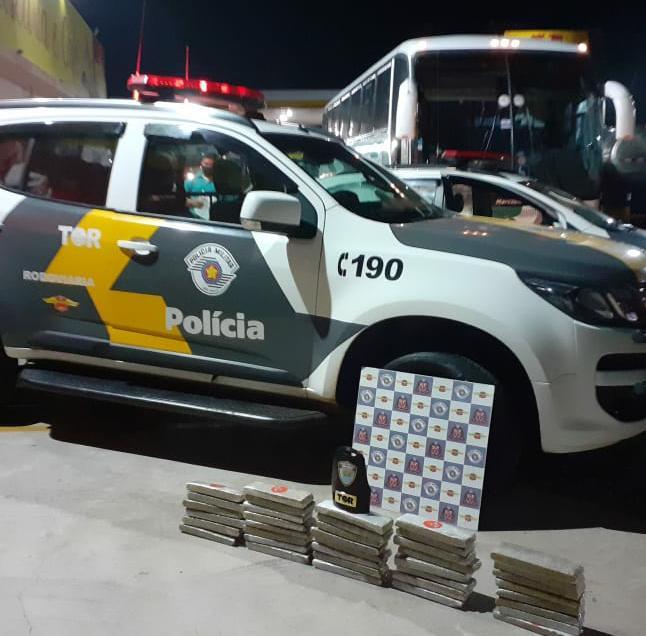 PMRv prende suspeito por tráfico em Pirassununga com cerca de 20 kg de maconha