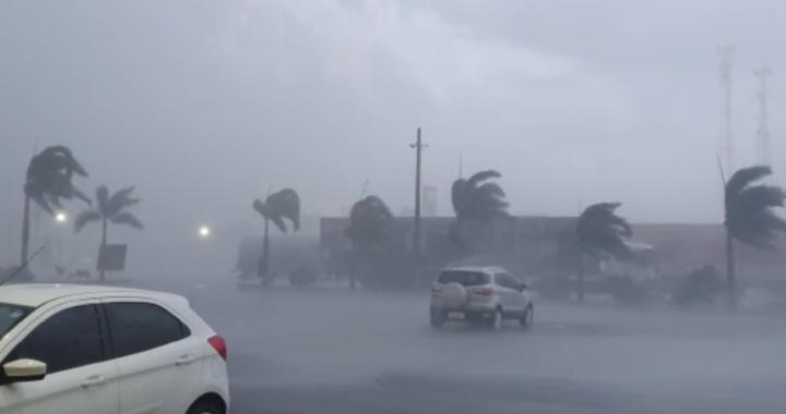 Chuvas e Ventos fortes deixam rastros de destruição na região