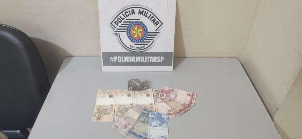 Jovem é detido com droga na Zona Norte de Pirassununga pela PM