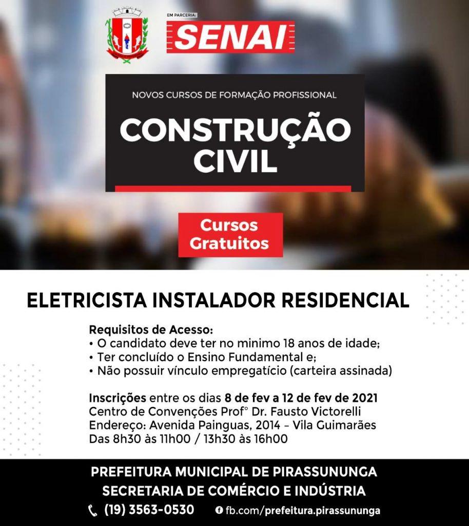 SENAI-Curso-Eletricista
