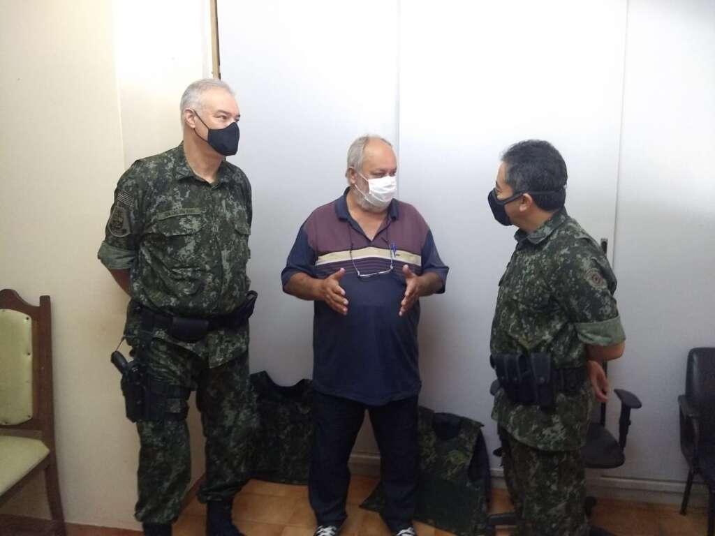 Comando Geral da PM Ambiental visitou 1º Pelotão em Pirassununga