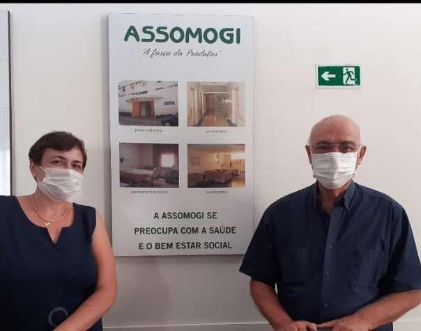 ASSOMOGI compra respirador pulmonar para Pirassununga