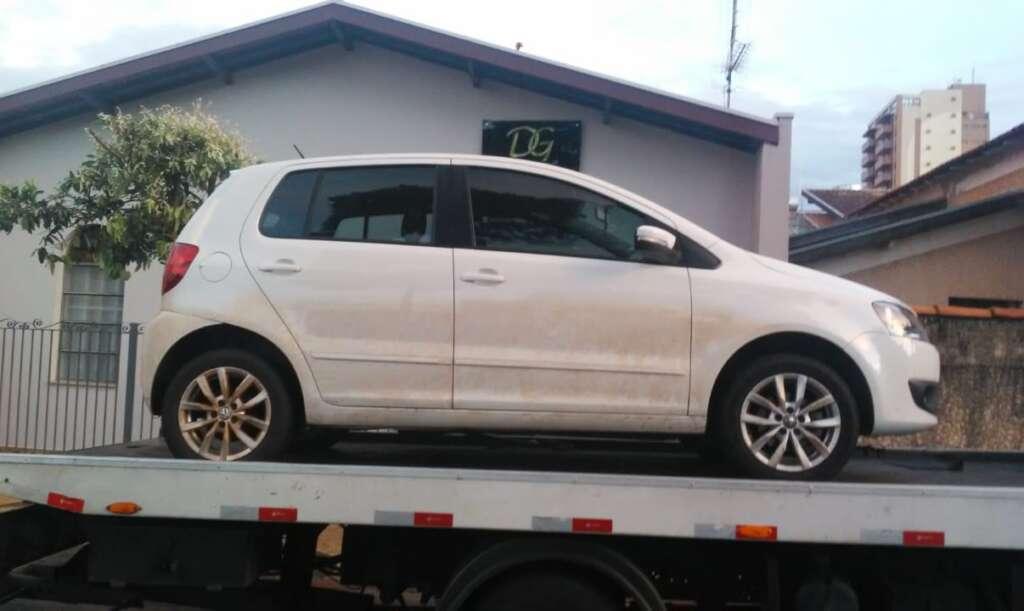PM de Leme recupera veículo roubado na cidade de Araras