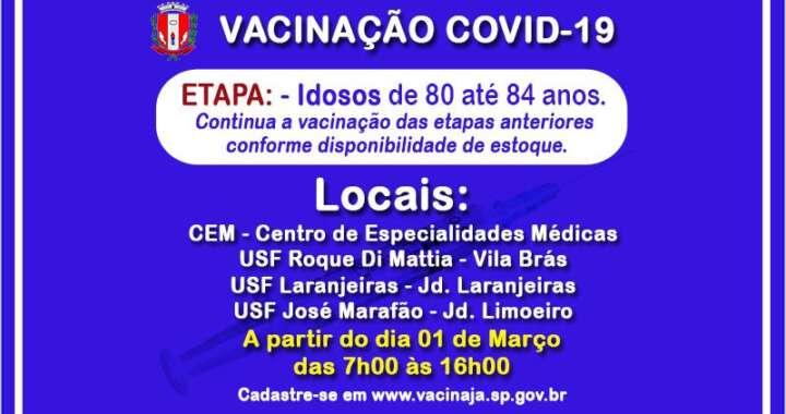 VACINA PIRASSUNUNGA - 01 - 03 - 21
