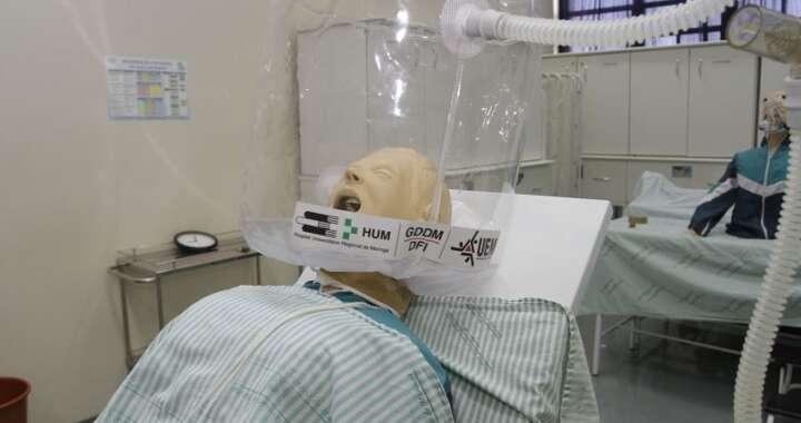 "Universidade Estadual de Maringá doa ""capacetes-respiradores"" para Pirassununga"