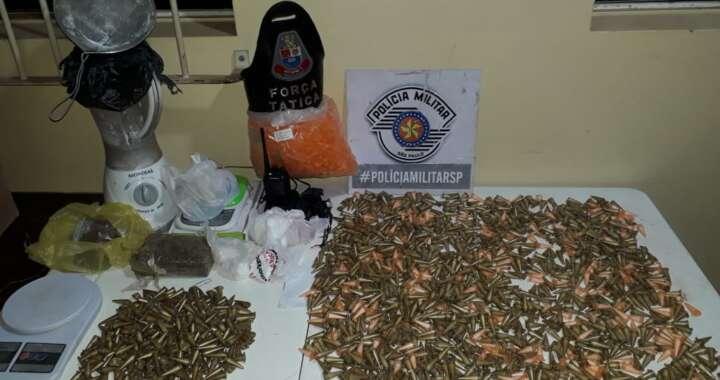 Força Tática da PM de Leme volta dar prejuízo ao tráfico de drogas com apoio do Águia