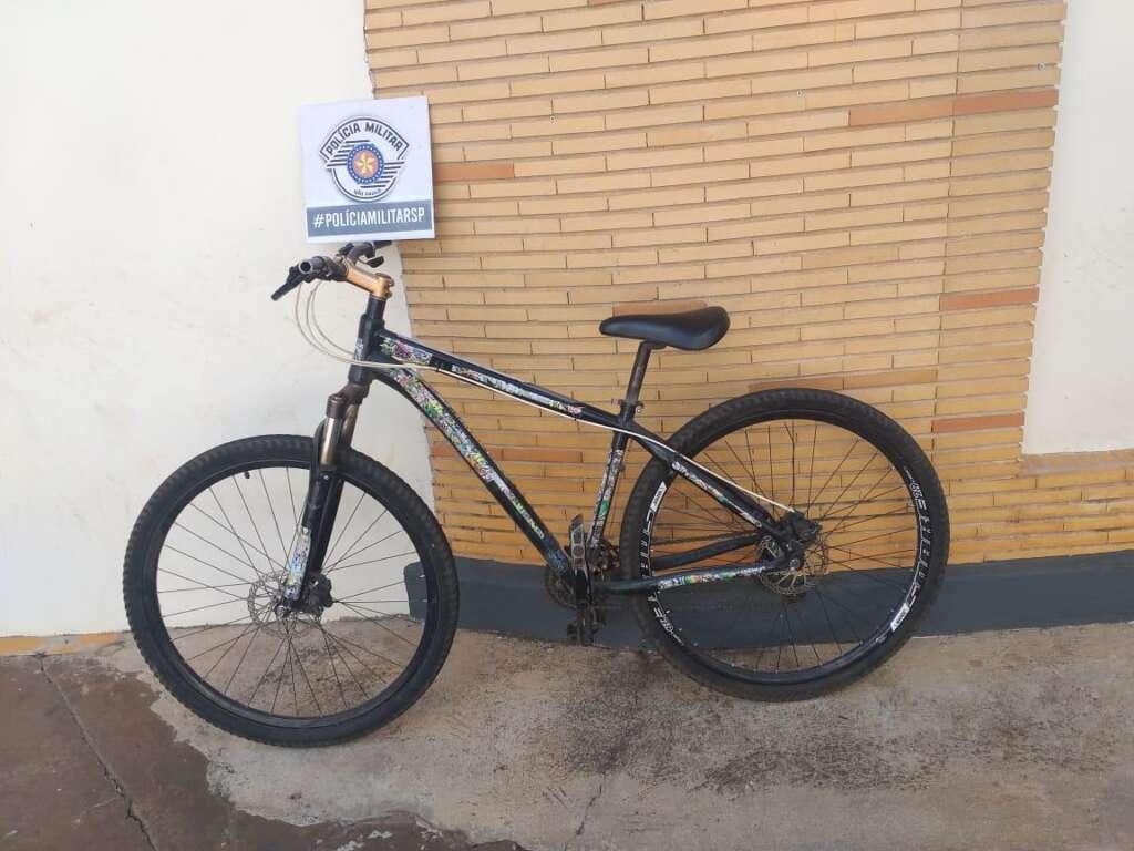 Força Tática da PM de Leme detém suspeito de comprar bicicleta furtada