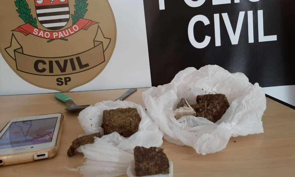 """Investigações da Polícia Civil de Pirassununga prende """"açougueiro"""" com maconha"""