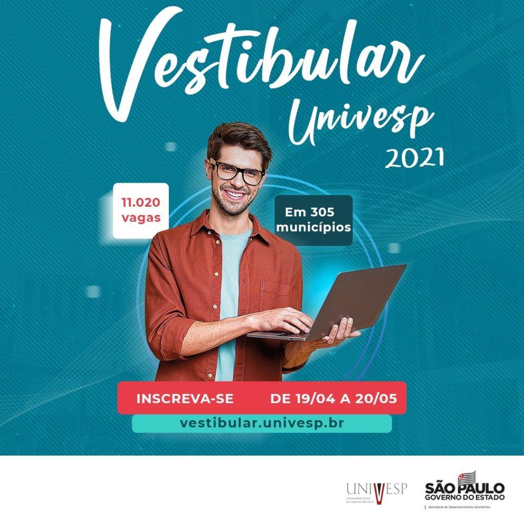 Abertas inscrições para o Vestibular da Univesp 2021 com vagas em Pirassununga