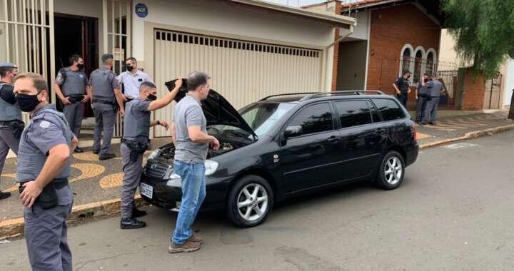 Cerco cinematográfico durante roubo com refém em Araras