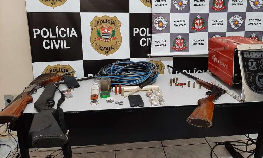"""""""Operação Caçador"""": Polícia detém suspeitos, prende um e deixa de apreender objetos e gados sem notas"""
