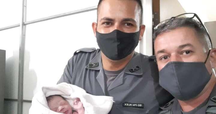 Policiais Militares de Leme realizam parto em residência