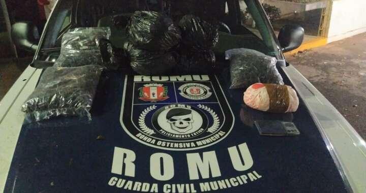 ROMU da GCM de Pirassununga volta a dar prejuízo ao tráfico de drogas no Cerrado de Emas