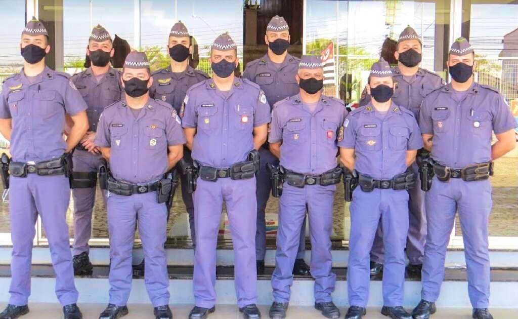 PMs moradores de Pirassununga foram homenageados na sede do CPI-9