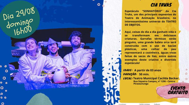 Teatro Municipal Cacilda Becker abre suas portas às 16h deste domingo
