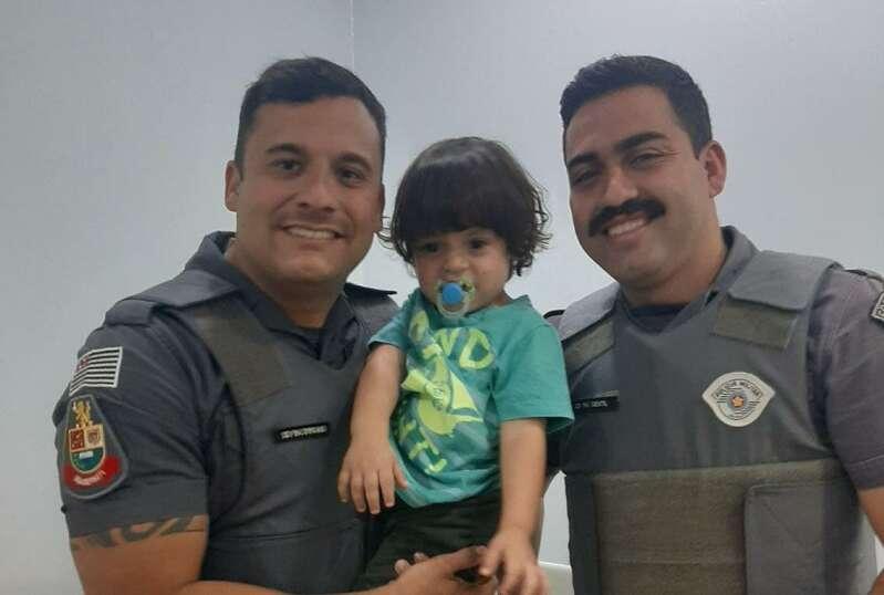 policia militar salva criança
