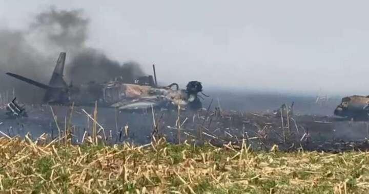 Avião da FAB cai em Campo Grande